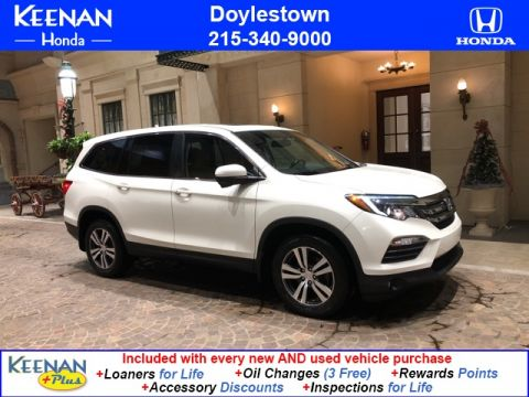 Certified Pre-Owned 2016 Honda Pilot EX-L w/Navigation