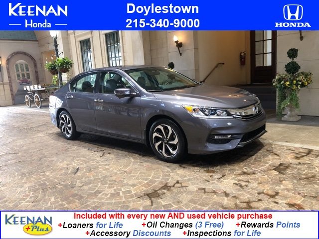 Certified Pre-Owned 2016 Honda Accord EX