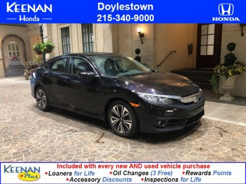 Certified Pre-Owned 2016 Honda Civic EX-L w Navigation